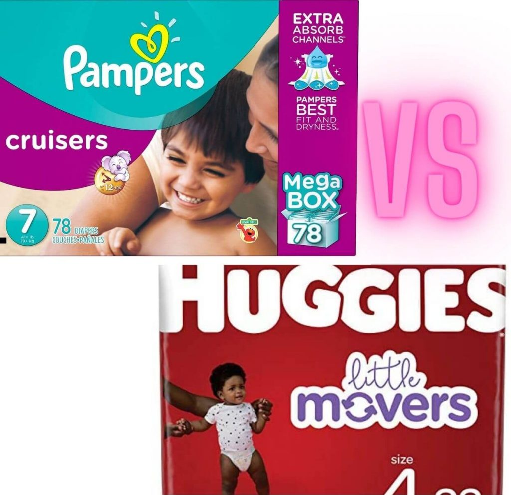 Pampers Cruisers VS Huggies Little Movers